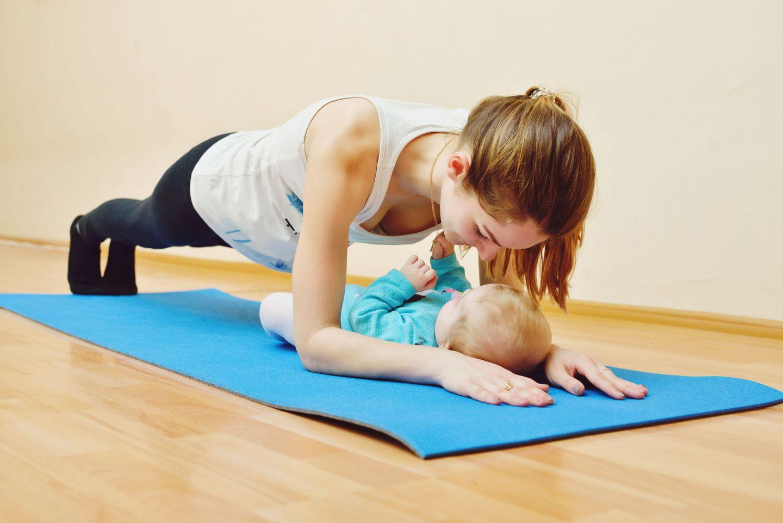 Entrenamiento postparto con tu bebé
